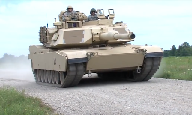4001aa9cccefdc Military and Commercial Technology: U.S. Army soldiers this week field  training with the new M1A1-SA Abrams