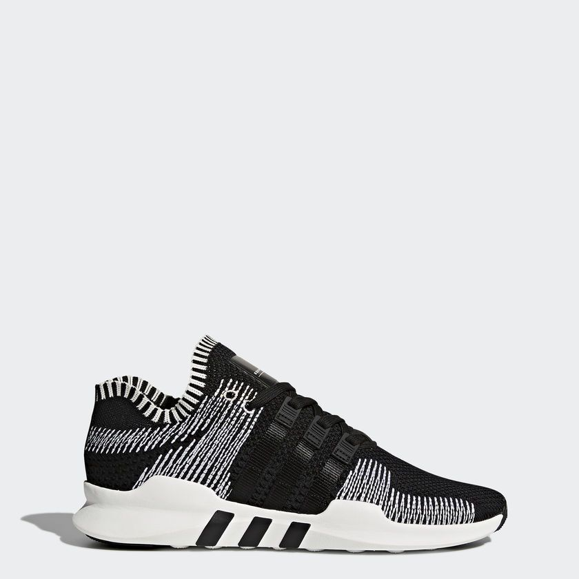 ADIDAS MEN'S EQT SUPPORT ADV PK PRIMEKNIT CORE BLACK Oreo RUNNING Shoes  BY9390