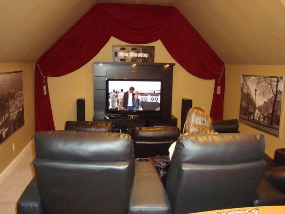 Good For Small Media Room Media Room Pinterest Small