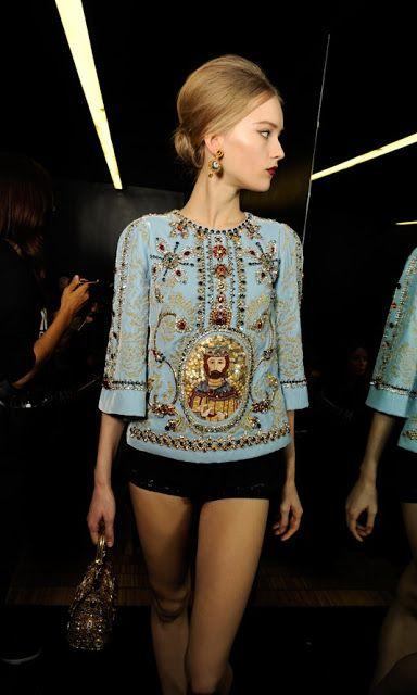 c9e202c13ff7 The Chronicles of Amoronia  Dolce Gabbana AW13-14  Byzantine inspira ...