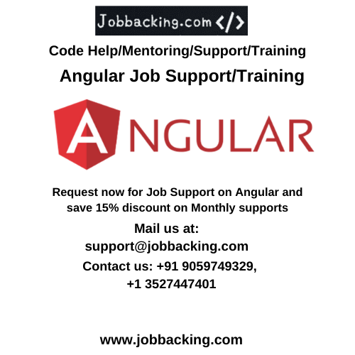 Angular Job Support Supportive Job Online Jobs