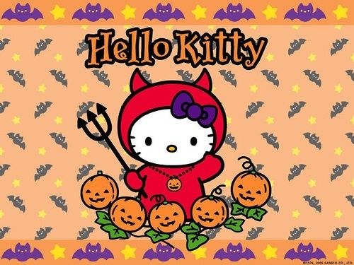 Pin by Ana Maria Garcia Carrasco on Gatos, gatitos y gatones - hello kitty halloween decorations