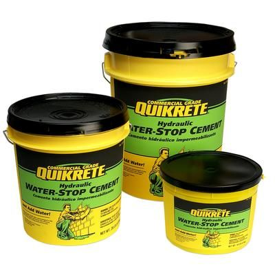 Quikrete Hydraulic Water Stop Cement 9kg 112606 Home Depot Canada