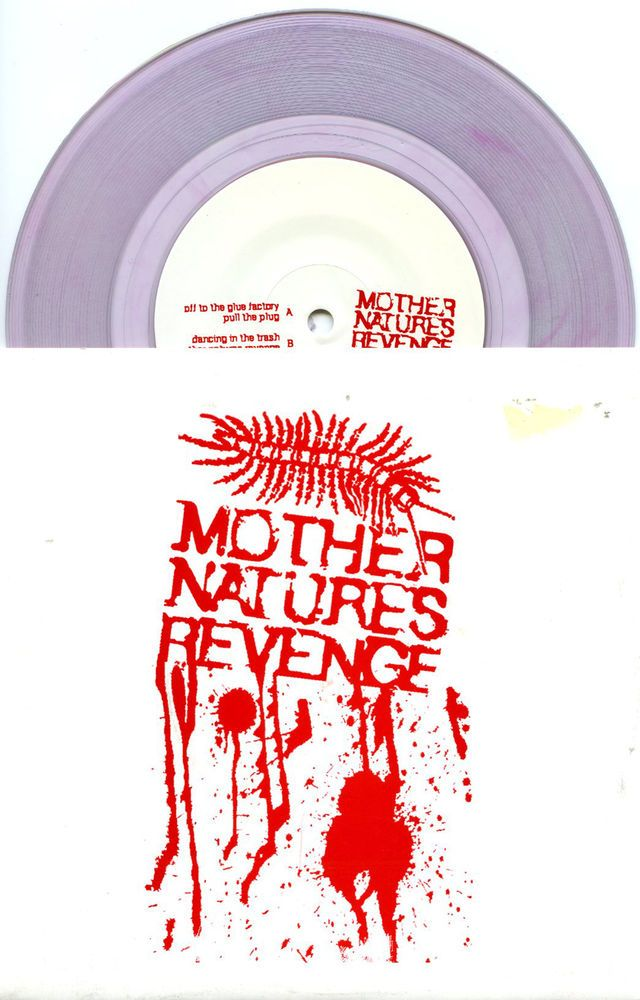 "MOTHER NATURES REVENGE 2005 'GLUE FACTORY' PUNK HARDCORE 7"" NM CLEAR VINYL Check out all our vinyl at Rock On Collectibles: http://stores.ebay.com/Rock-On-Collectibles/Vinyl-LPs-Singles-/_i.html?rt=nc&_fsub=7421951&_sid=70220124&_trksid=p4634.c0.m14.l1513&_pgn=16"
