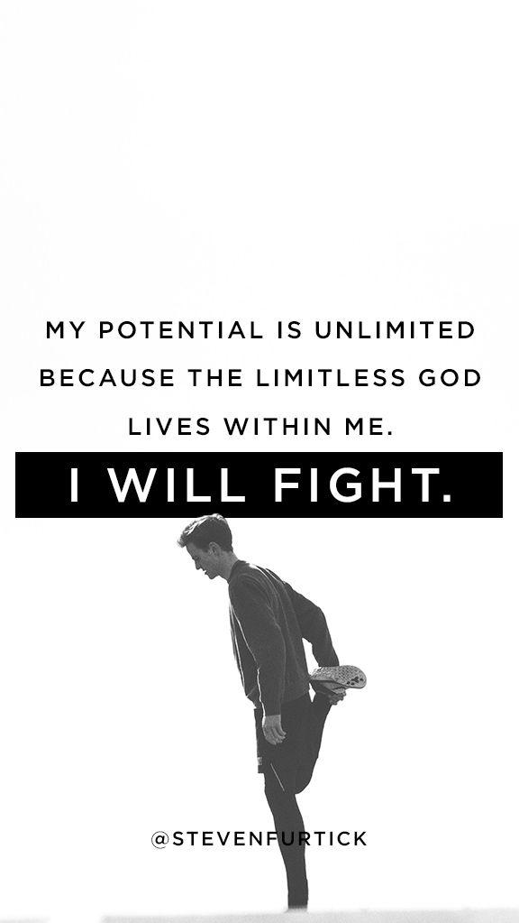 Pastor Steven Furtick. I Will Fight. Phone Wallpaper | Fitness ...