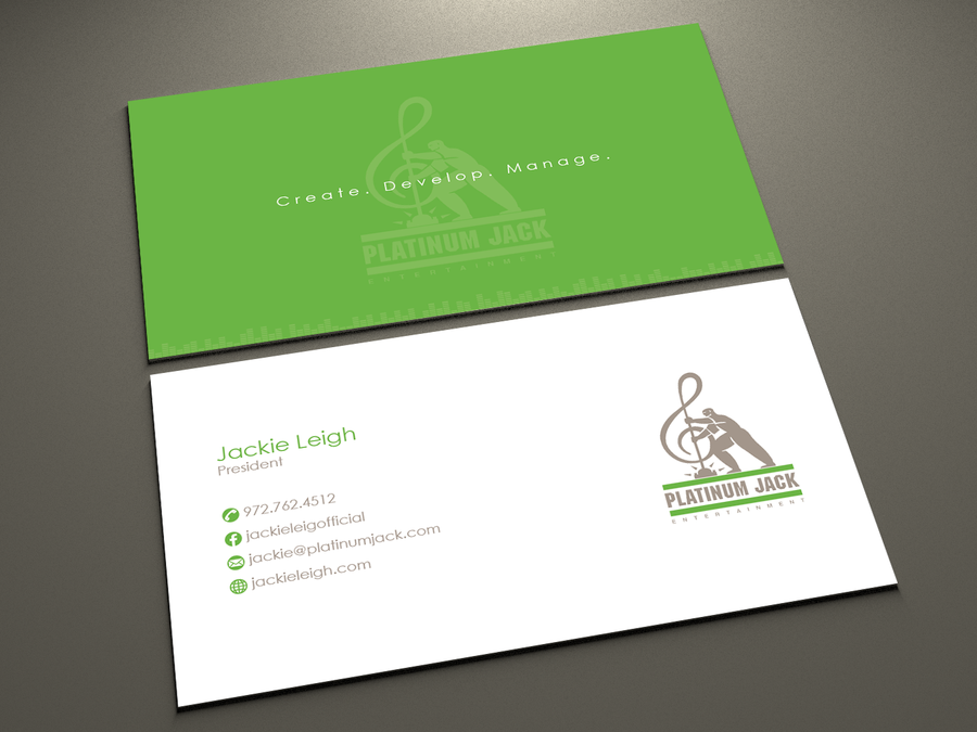 Business Card Design Contest Music Company Business Card With Existing Logo Business Card Design Company Business Cards Elegant Business Cards Design