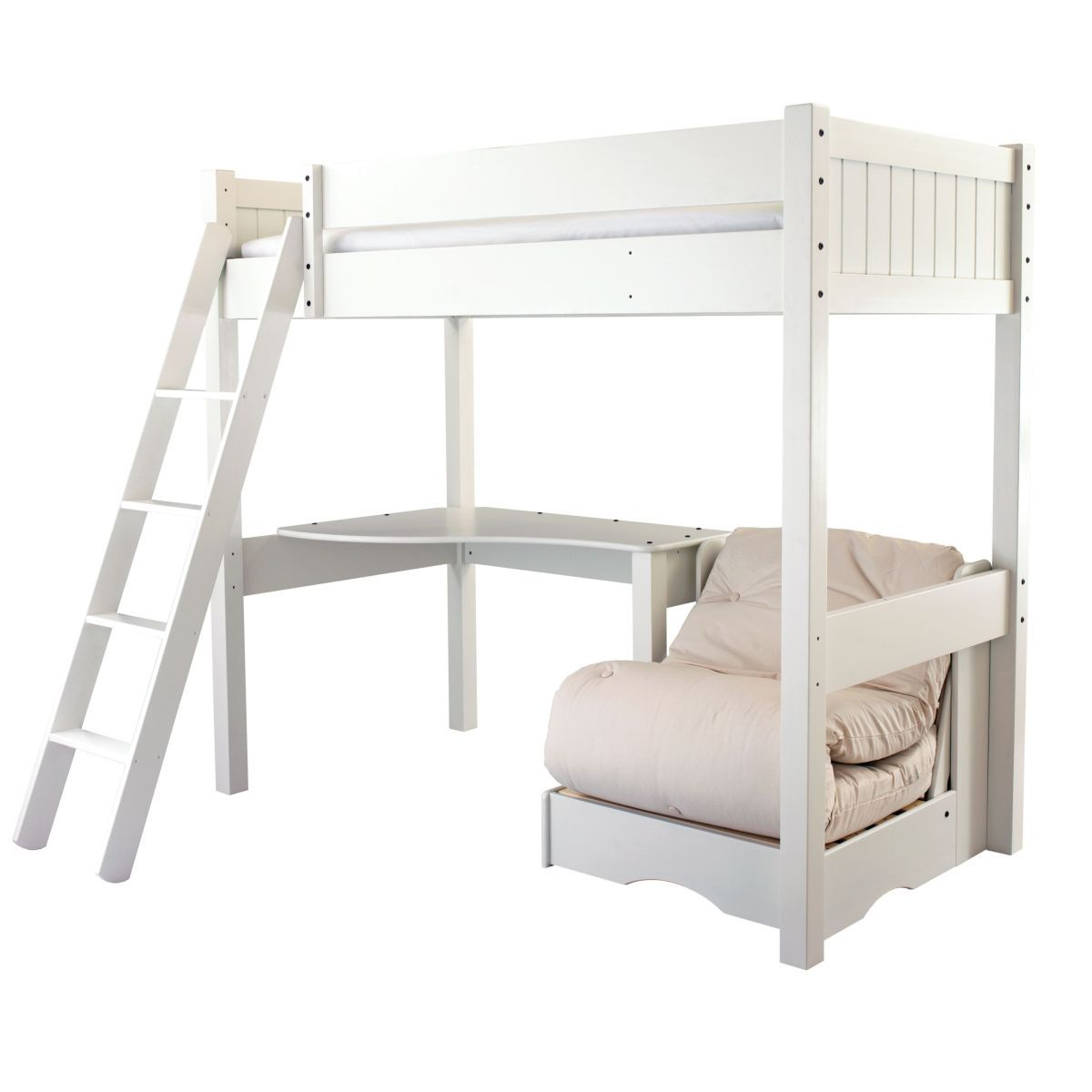 Warwick High Sleeper Bed With Futon