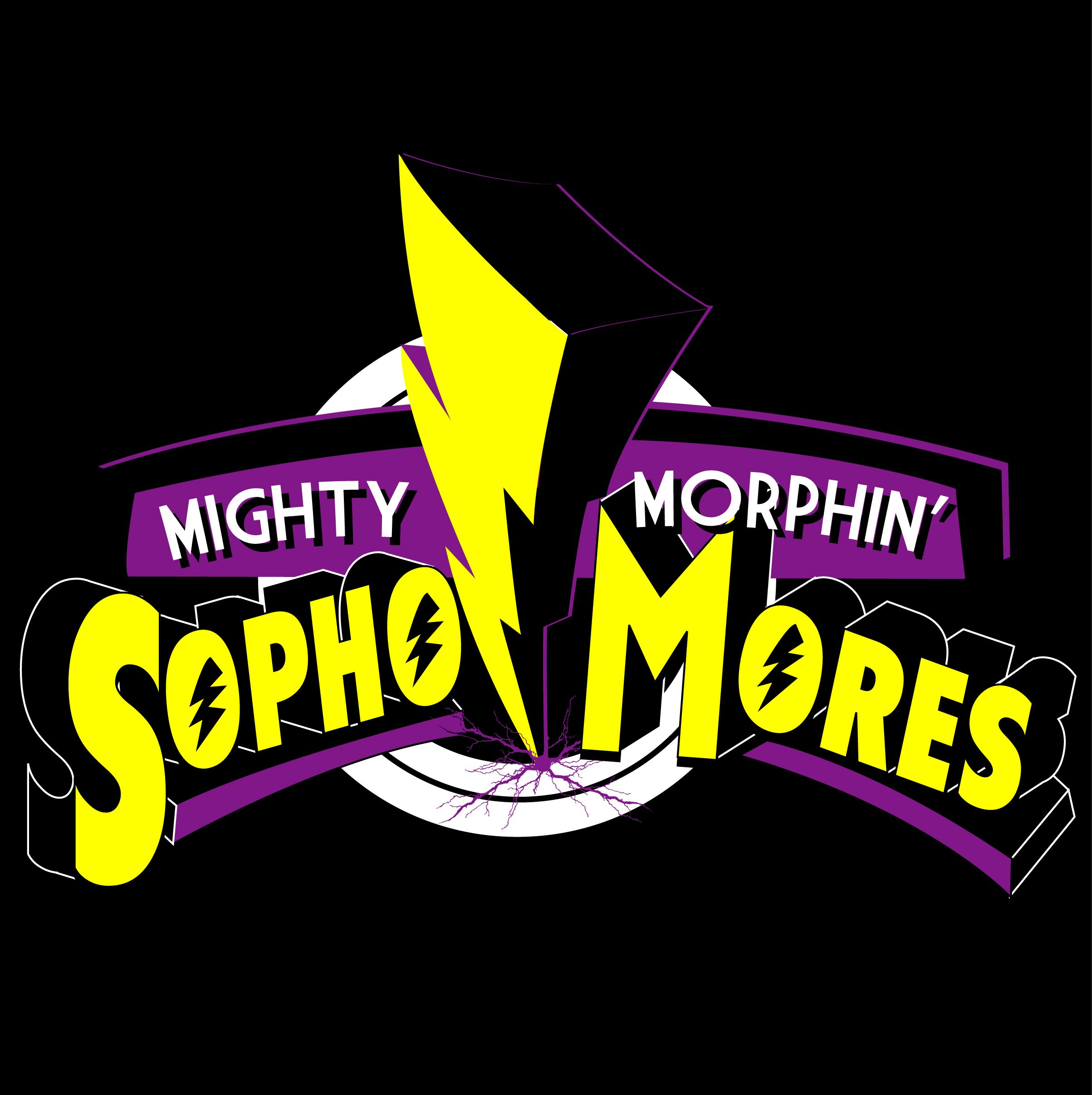 T shirt design ideas for schools - Affton High School Class Of 2013 Mighty Morphin Sophomores T Shirt Design