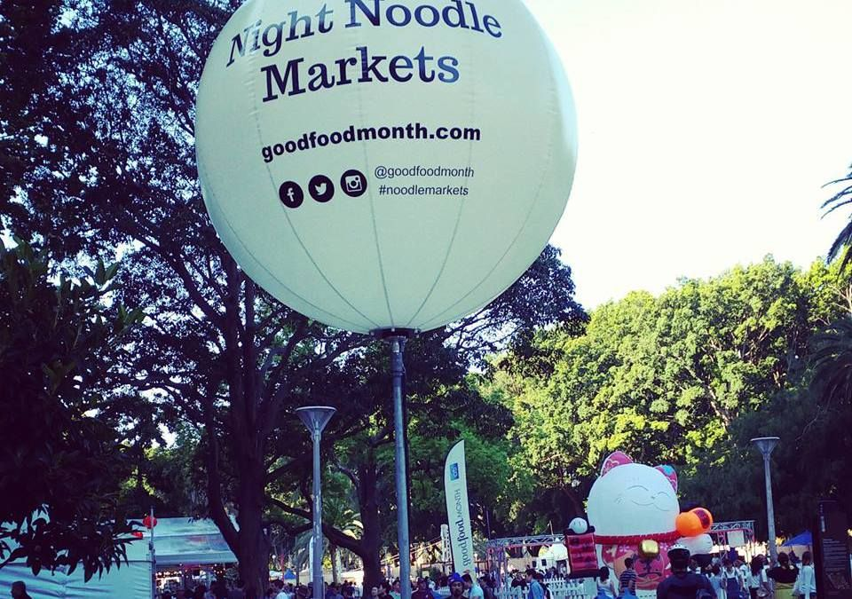 Have you been to the Night Noodle Markets in Sydney yet?