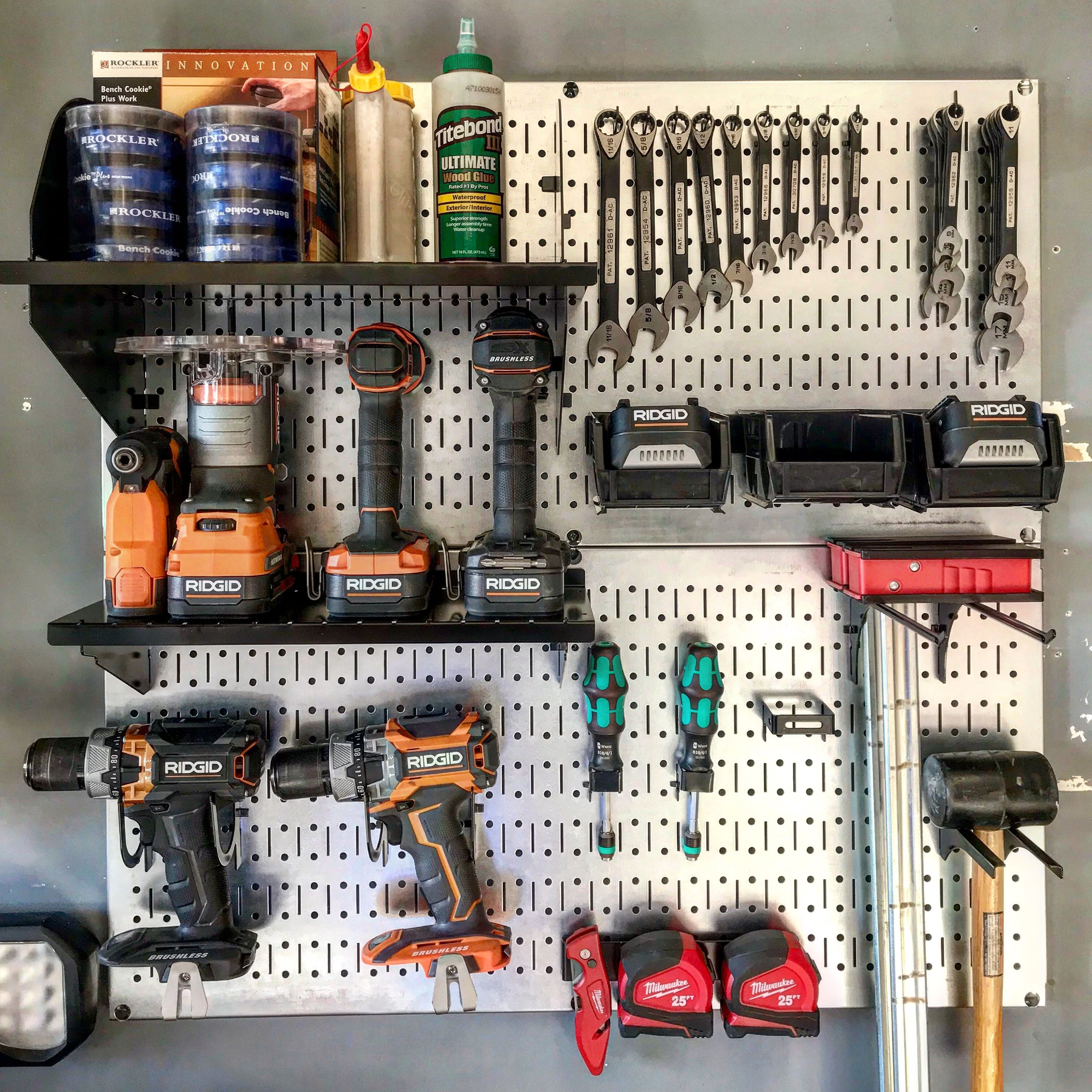 want a clean and organized workshop gabriel figured out on wall control id=14767