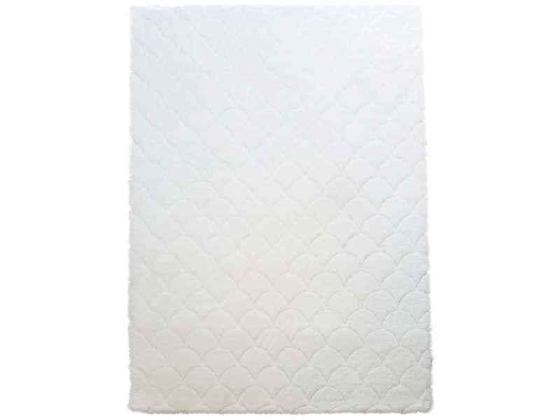 Tapis 120x170 Cm Rabbit Coloris Blanc Vente De Tapis Petite Taille Conforama Tapis 120x170 Tapis Conforama