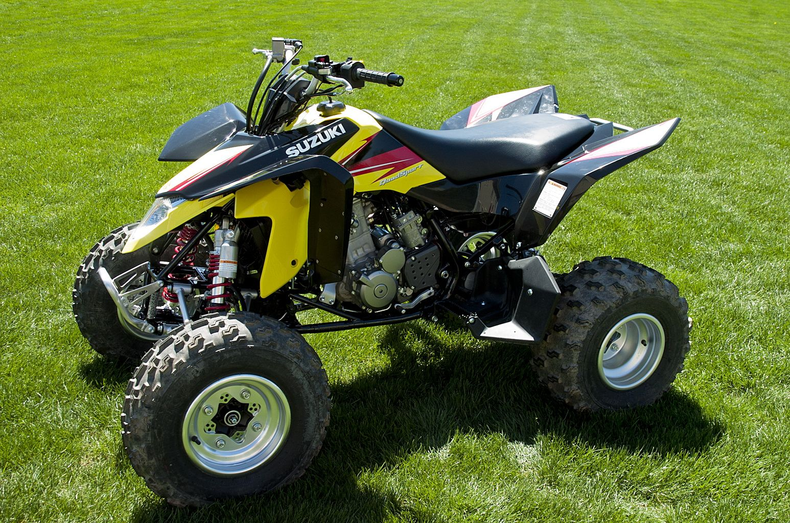 Suzuki quadsport z400 reviews prices and specs autos weblog suzuki - Our New 2013 Suzuki Quadsport Ltz400 What An Improvement In Performance Over Our 2007