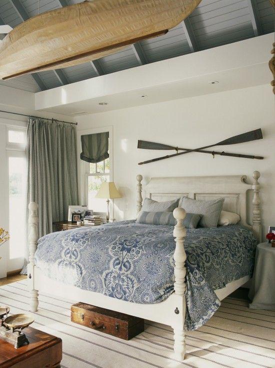 Coastal Cottage Master Bedroom Design Remodel Decor and