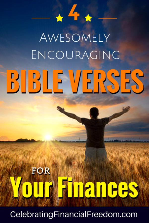 Encouraging Bible Verses For Finances Money And Wealth