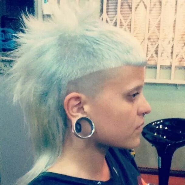Yo Landi Visser Inspiration Short Hair Styles Funky Short Hair