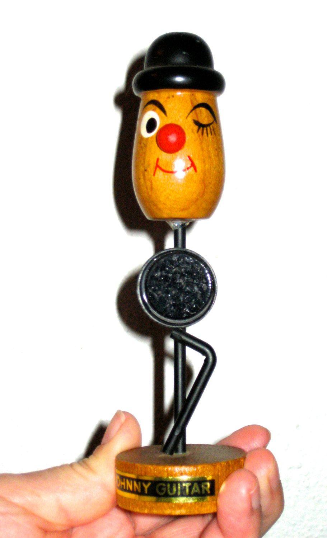Vintage Johnny Guitar bottle opener magnet barware Japan by sweetalicelovesyou on Etsy