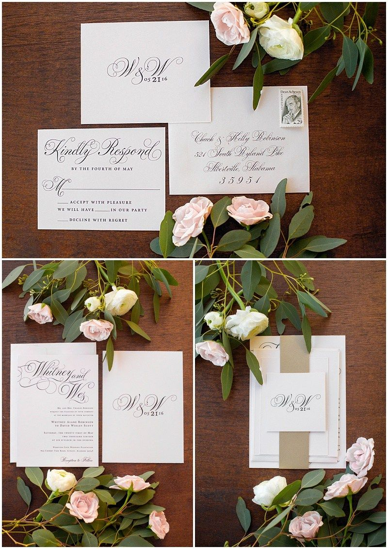 Classic Elegance Wedding Invitations Shopsaltandpaperie Com Pages