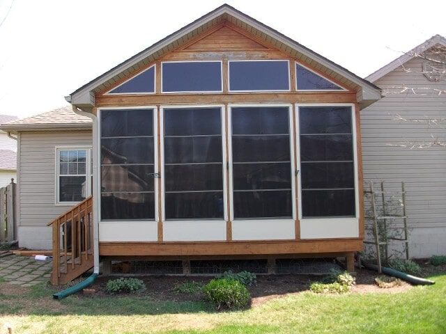 this glass patio enclosure is a great idea i love how the walls
