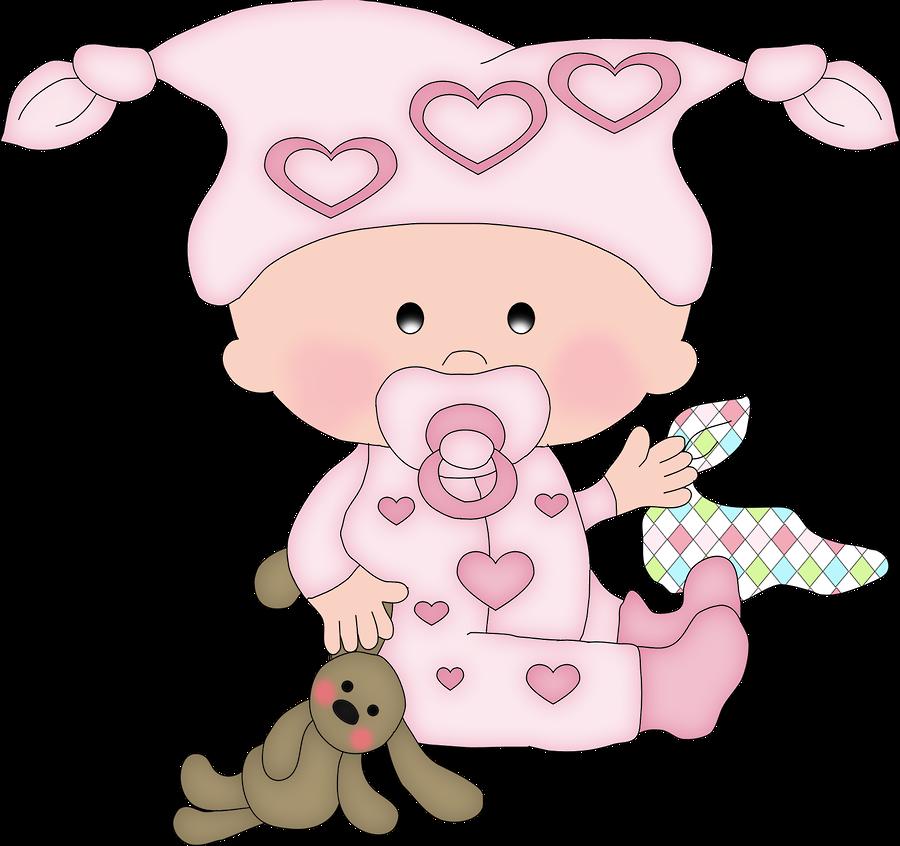 Картинка девочка младенец мультяшная