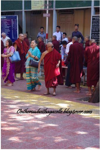 A fun monk in Mandalay!