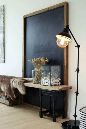 Inspiration  aménagements pour vos entrées Idées pour la maison - idee deco entree maison