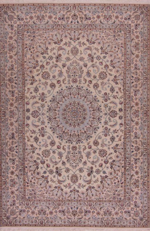 "NAIN RUG 6LA 251592 Dimensions250 x 165 cm ( 8' 2"" x 5' 5"" ) Origin IRAN"