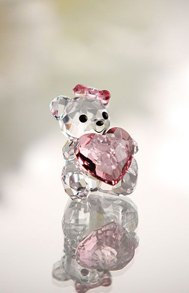 Swarovski kris bear only for you swarovski pinterest - Figuras de cristal swarovski ...