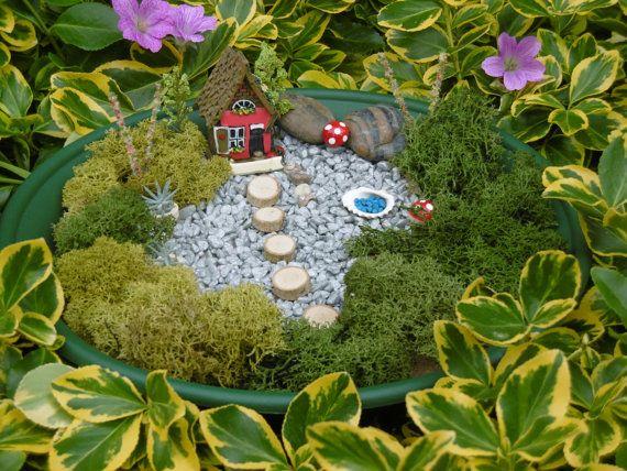 Fairy Miniature Garden Kit Fairy Garden Fairy Miniatures Ideal