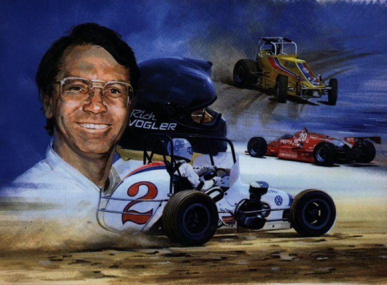 Rich Vogler Sprint car racing, Sprint cars, Vintage racing
