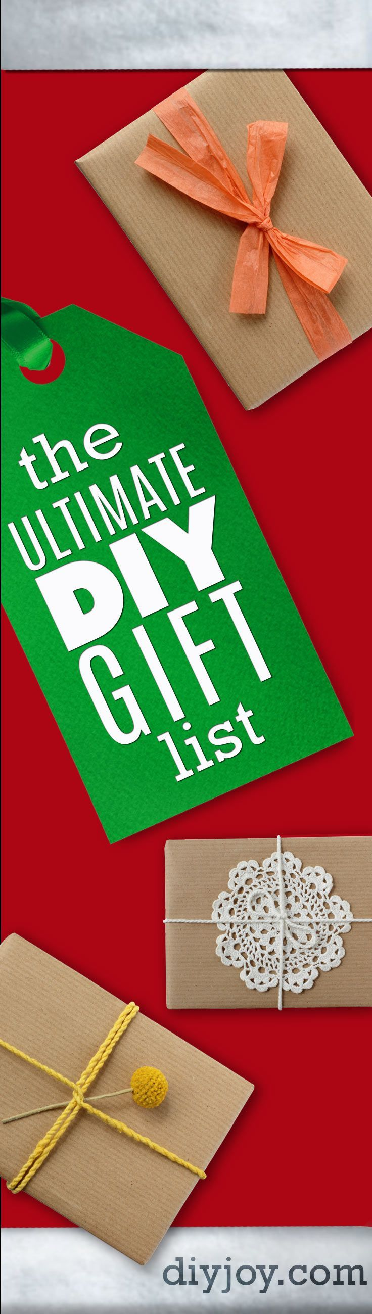 Best DIY Christmas Gifts | Do It Yourself Today | Diy ...