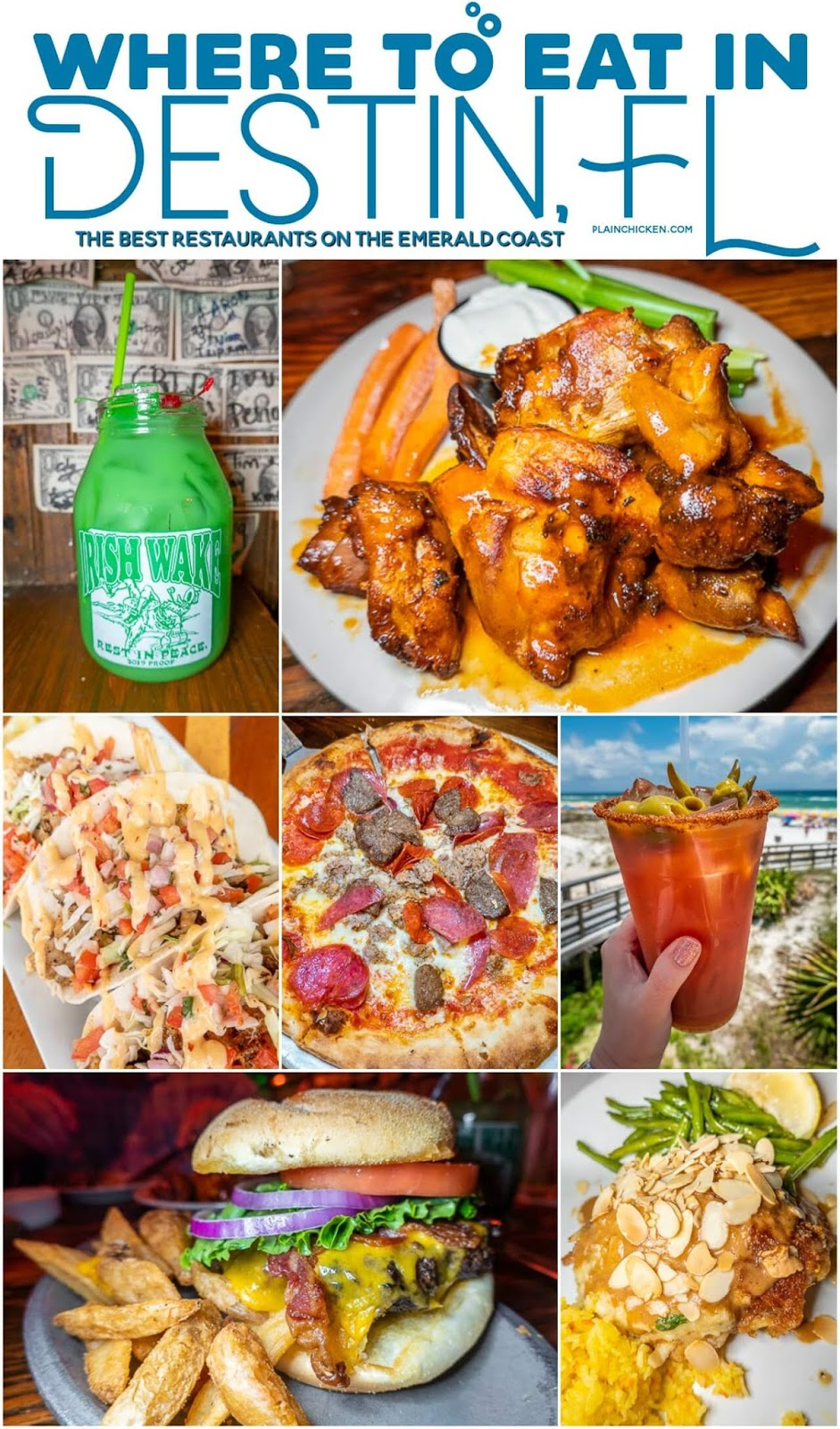Where To Eat In Destin Fl The Best Places To Eat In The Destin Florida Area Drinks Restaurant On The Beach Destin Florida Restaurants Florida Restaurants