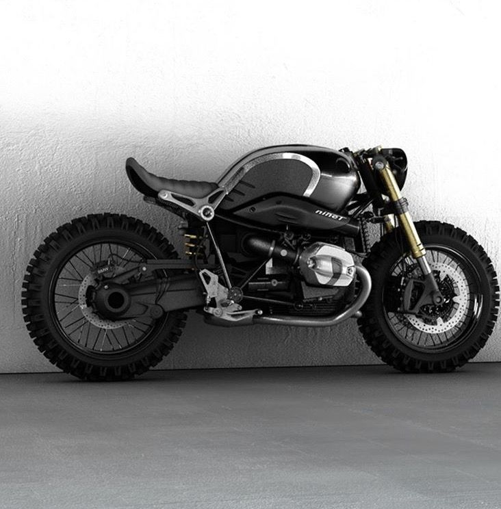 I'd Only Change The Tires BMW R9T