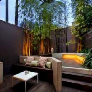 small enclosed outdoor space idea city terrace ideas pinterest