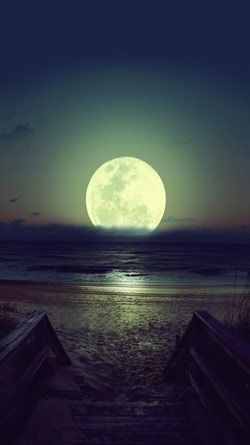 Free Beautiful Night On Beach IPhone HD Wallpaper Iphone Retina Computer Desktop Wallpapers Pictures Images
