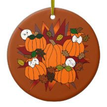 Babies In The Pumpkin Patch Ornament