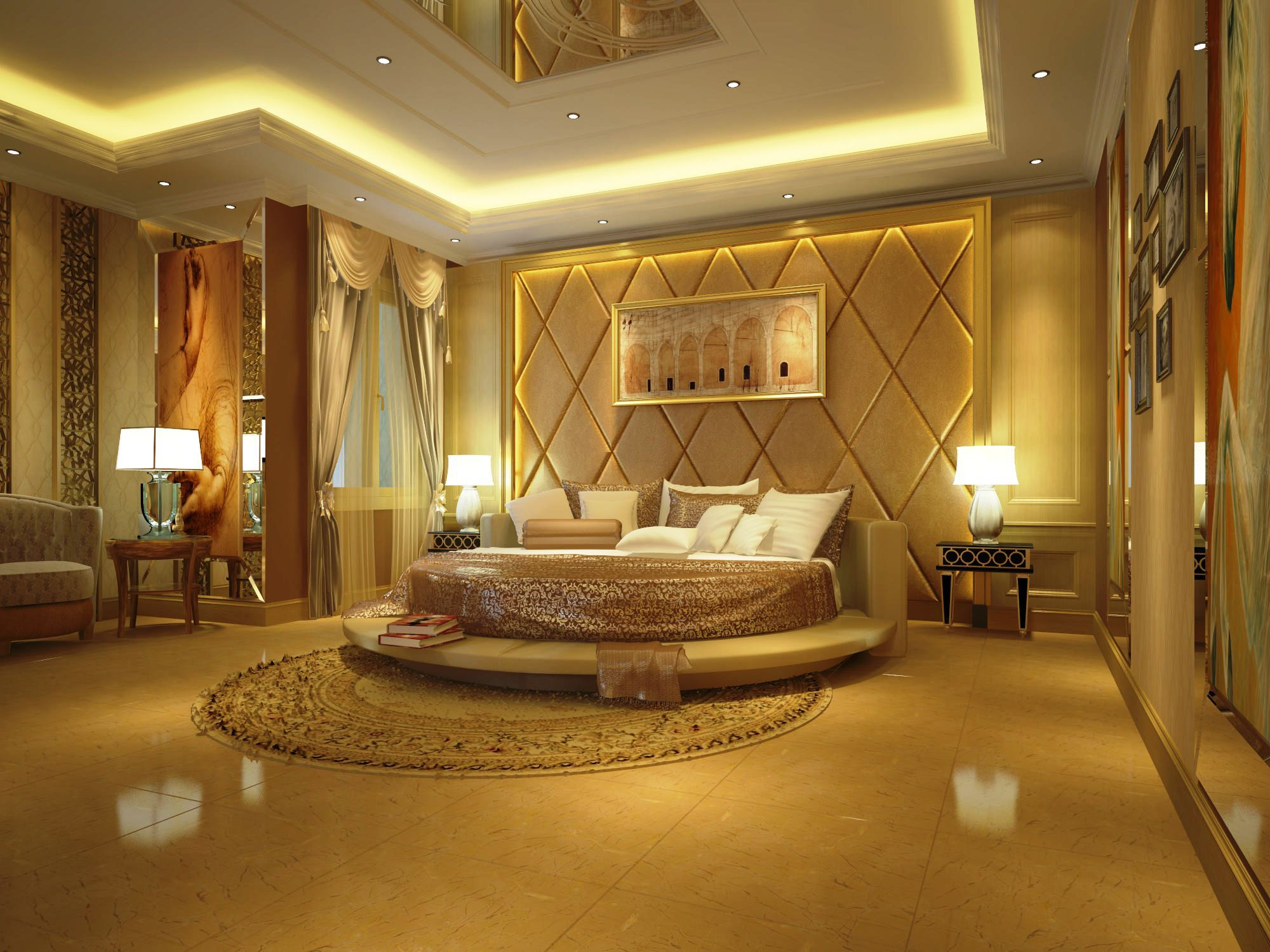 Luxury Bedrooms Interior Design Interesting A Master Bedroom Fit For A King & Queendescription From Design Ideas
