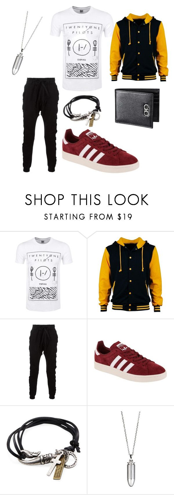 """I would wear this"" by brandon-stutz-klaas ❤ liked on Polyvore featuring Blood Brother, adidas Originals, Degs & Sal, Akillis, men's fashion and menswear"