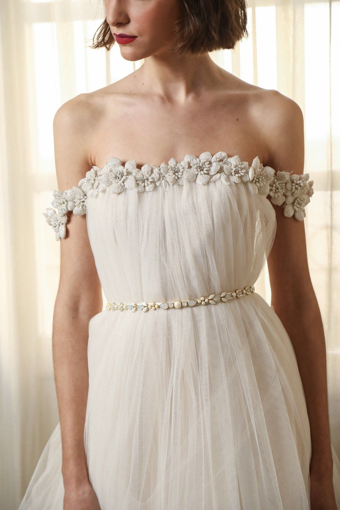 10 Beautiful Bridal Sashes Belts Wedding Dresses Bridal Sash Belt Dresses [ 1680 x 1120 Pixel ]