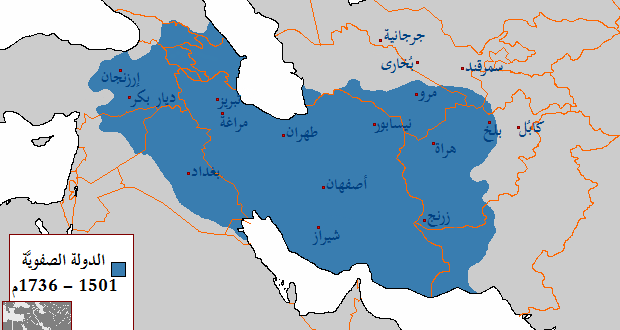 ايران تخترق العراق في كل قرن من قرون التاريخ الحديث World Map Diagram Map