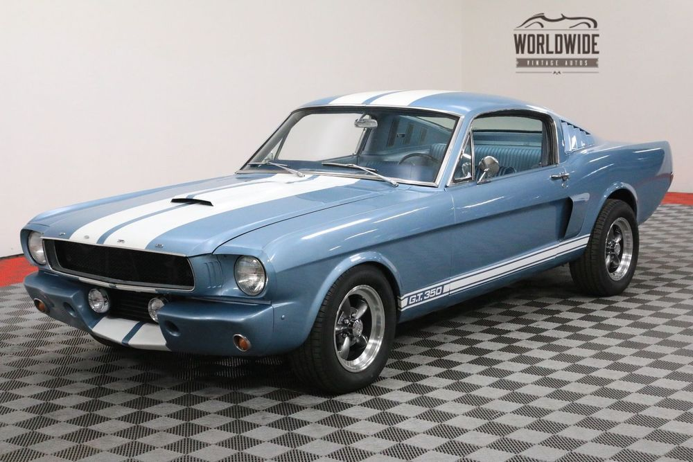Ebay 1966 Ford Mustang Fastback 2 2 289v8 Ac Auto Gt350 Clone Call 1 877 422 2940 Financing World W Ford Mustang Fastback 1966 Ford Mustang Mustang Fastback