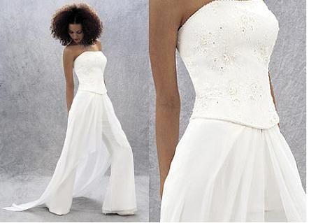 378743075 Le blog d'Adeline » Se marier en pantalon: une mariée en pantalon ...