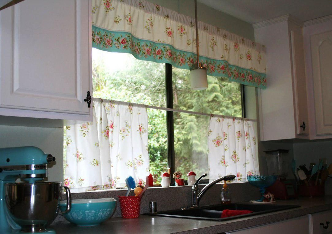 Exceptionnel Shabby Chic Kitchen Curtains