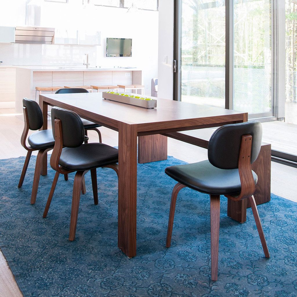 Plank Table Bench Dining Gus Modern