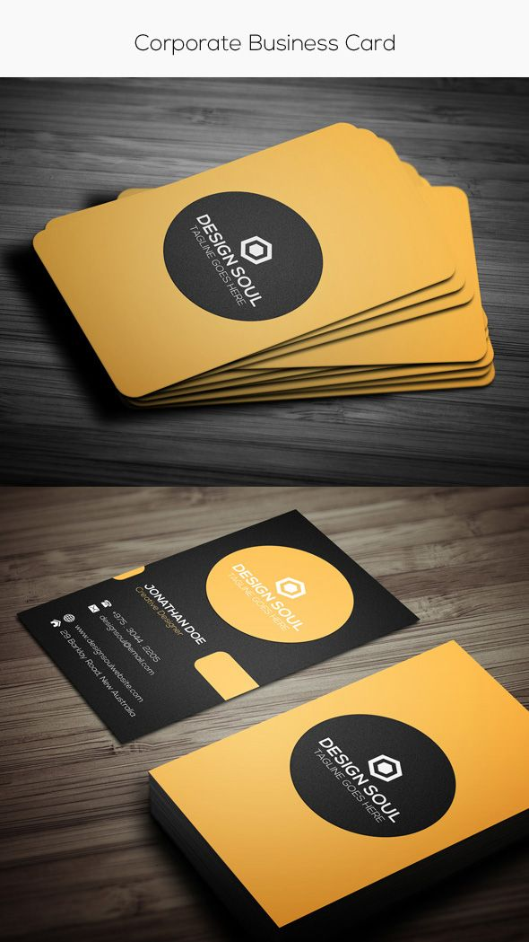 Simple corporate card template nc layout pinterest card photoshop business card template 15 premium business card templates in photoshop illustrator fbccfo