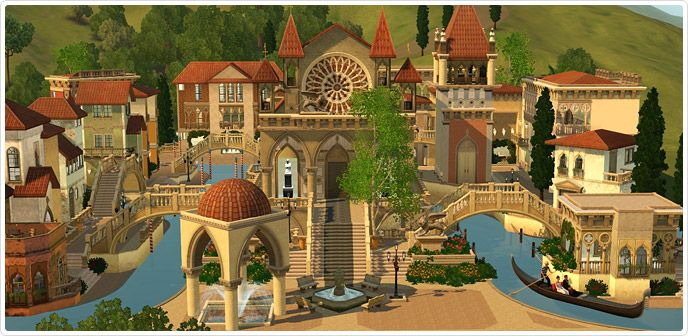 Letzter Winkel der Liebe - Store - Die Sims™ 3 Sims 3 Venedig - sims 3 wohnzimmer modern