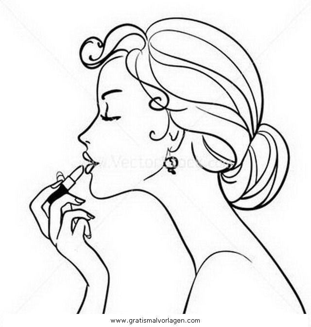 menschenmadchenragazzeschminken4  ausmalen