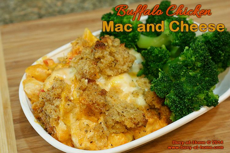 Buffalo chicken mac and cheeseyes please cheese