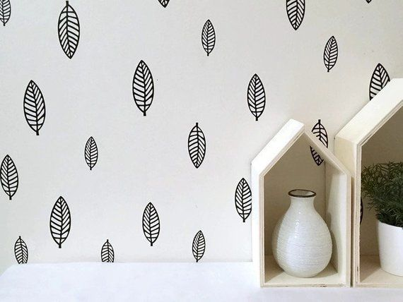 Leaf Decals Cutouts Canada Home Bedroom Wall Stickers