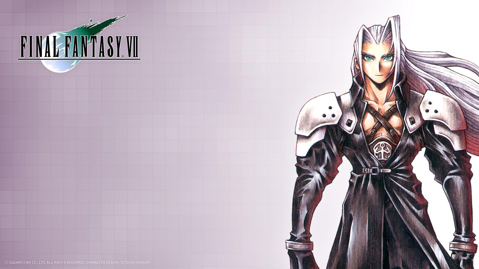 Sephiroth Final Fantasy Pinterest
