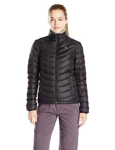 a86c38a899db Salomon Womens Halo Down Jacket II Black Small   Details can be found by  clicking on the image. (This is an affiliate link)